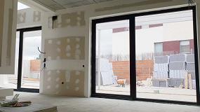 Foto de Strugal en una vivienda unifamiliar Passivhaus en Aranjuez