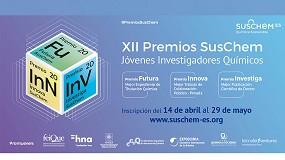 Foto de SusChem-España convoca la XII Edición de sus Premios para reconocer el trabajo de los jóvenes investigadores químicos