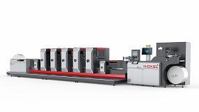 Foto de Imagraf presenta la nueva imagen de la impresora offset intermitente Nickel FS350