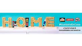 Foto de Loctite, Pattex y Pritt lanzan una iniciativa para promover la creatividad en casa