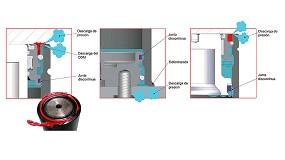 Foto de Cilindros de gas diseñados para la máxima seguridad para el usuario