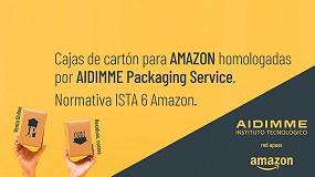 Foto de Homologar las cajas de cartón de Amazon reduce los residuos generados y los costes
