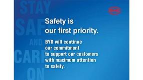 Foto de BYD mantiene su compromiso con sus clientes