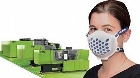 Foto de Engel y Haidlmair permiten fabricar protectores de boca y nariz en un tiempo récord