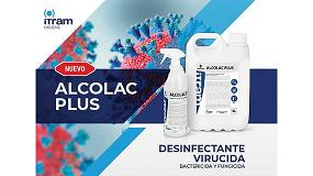 Foto de Itram Higiene lanza ALCOLAC PLUS, desinfectante para el SARS-CoV-2