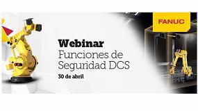 Foto de Fanuc organiza un webinar sobre funciones de seguridad DCS