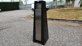 Foto de Supraform presenta la nueva columna dispensadora de gel desinfectante a pedal AV Penguin