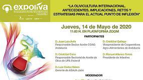 Foto de Expoliva analiza los retos de la situación de la olivicultura en el marco internacional en el Primer Diálogo Online