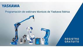 Foto de Yaskawa Ibérica ofrece formación gratuita con un extenso programa de webinars técnicos