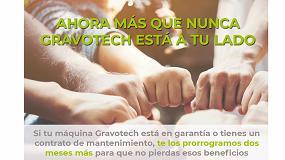 Foto de Gravotech ofrece una ampliación de garantía de sus máquinas de dos meses