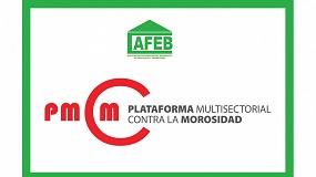 Foto de AFEB se adhiere a la Plataforma Multisectorial Contra la Morosidad