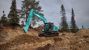 Foto de La nueva excavadora Kobelco SK130LC-11 establece un nuevo estándar en la clase de 12-14 toneladas