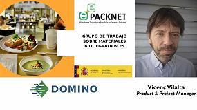 Foto de Domino España aporta su experiencia en codificación sobre materiales biodegradables