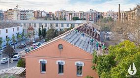 Foto de Rehabilitación energética de la cubierta del Centro de Salud Padre Jofré de Valencia