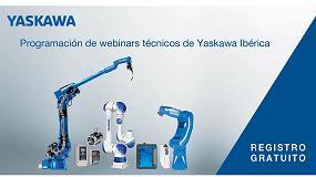 Foto de Yaskawa Ibérica ofrece un segundo programa de webinars técnicos