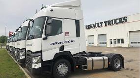 Foto de Aralogic confía en Renault Trucks para ampliar su flota