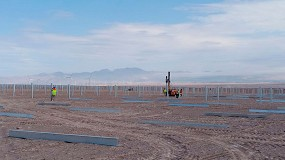 Foto de Soltec suministra su seguidor SF7 Bifacial en una planta de 101 MW en Antofagasta, Chile