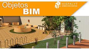 Foto de Nueva biblioteca de adoquín cerámico para REVIT