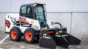 Foto de Bobcat presenta su nuevo esparcidor de suelo y asfalto