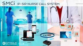 Foto de Optimus presenta SMCi, un nuevo sitema de intercomunicación paciente-enfermera IP/SIP