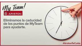 Foto de Ariston elimina la caducidad de los puntos de MyTeam para ayudar a la recuperación del sector