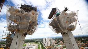 Foto de Ingeniería Ulma en el emblemático puente Arco de Innovación, Brasil
