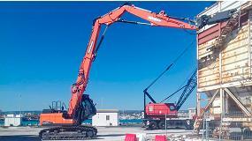 Foto de Doosan presenta la excavadora de demolición DX235DM
