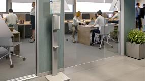 Foto de Nofer 100% contactless, nueva gama de displays con expendedores electrónicos de gel hidroalcohólico