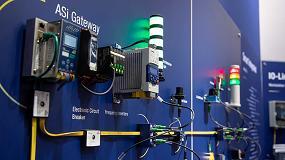 Foto de Enlace de dispositivos IO-Link con un solo cable a ASi