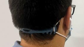 Foto de Plásticos Detectables crea un salva-orejas para evitar los daños del uso continuado de todo tipo de mascarillas