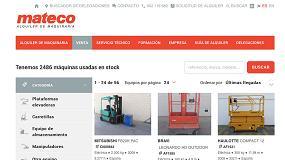 Foto de Mateco lanza una nueva versión de su portal de venta de maquinaria usada