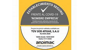 Foto de Andimac crea el sello 'Establecimiento seguro frente a COVID-19' destinado a tiendas de materiales de construcción