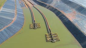 Foto de Soluciones de barcazas Multiflo de Weir Minerals