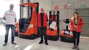 Foto de Toyota Material Handling España mantiene su compromiso solidario con Cruz Roja Española