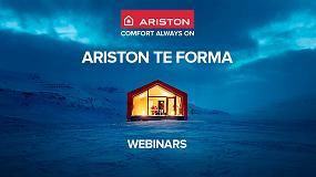 Foto de Ariston pone en marcha cursos webinars gratuitos para instaladores, arquitectos y distribuidores