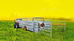 Foto de Joskin Betimax, nuevas barreras para remolques de ganado