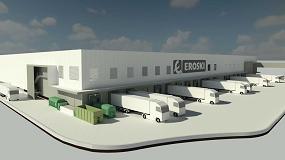 Foto de Avance de la nueva plataforma logística para frescos de Eroski