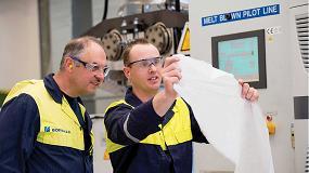 Foto de Borealis apoya las iniciativas de fabricación de mascarillas con la producción de tejidos fundidos