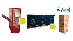 Foto de Ecolum Recyclia acierta con el diseño de los contenedores para residuos de iluminación