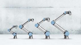 Foto de Universal Robots muestra las últimas funcionalidades de los cobots en tres webinars