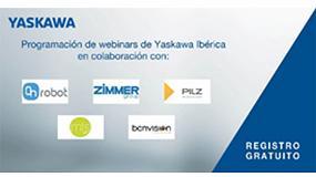 Foto de Yaskawa Ibérica lanza su tercer programa de webinars junto con empresas colaboradoras