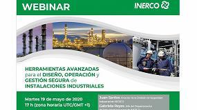 Foto de Inerco presenta herramientas avanzadas para el diseño, operación y gestión segura de instalaciones industriales