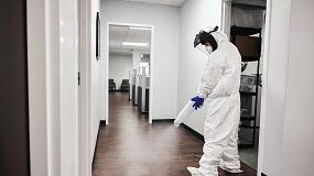 Foto de Uso de ozono para desinfección del virus SARS-CoV-2