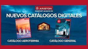 Foto de Ariston lanza su primer catálogo exclusivo de aerotermia en formato digital y físico