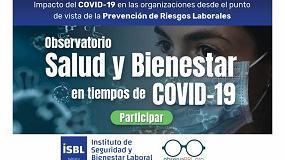 Foto de El Instituto de Seguridad y Bienestar Laboral lanza el Observatorio Salud y Bienestar en tiempos de COVID-19