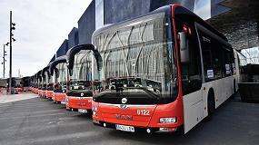 Foto de Barcelona contará con autobuses articulados híbridos alimentados por GNC