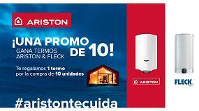 Foto de Nueva promoción de Ariston para el instalador profesional: regalo de un termo eléctrico por la compra de diez