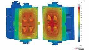 Foto de Sigmasoft optimiza la producción de mascarillas gracias al moldeo virtual