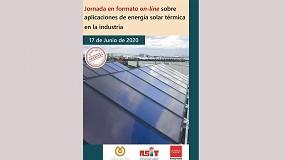 Foto de Asit y Fenercom organizan la jornada online 'Aplicaciones de energía solar térmica en la industria'