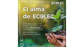 Foto de La Fundación Ecolec reúne sus acciones de Responsabilidad Social Corporativa en #GreenSoul